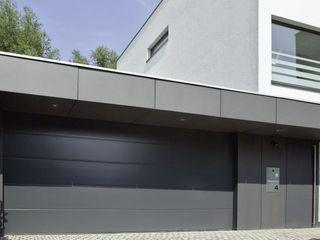 wirges-klein architekten Garajes y galpones de estilo moderno