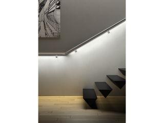 Led railing system IAM Design Corridor, hallway & stairsLighting