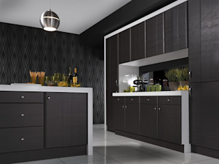 Grove Dark Oak Melinga Kitchen Dream Doors Ltd KitchenStorage
