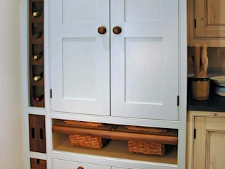 Larder cupboards Hallwood Furniture مطبخ