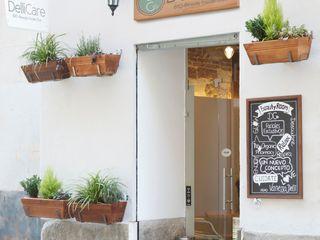 """BEAUTY CAFÉ """"DELLICARE"""". C/ PELAYO. MADRID. 2014 Bescos-Nicoletti Arquitectos Oficinas y tiendas de estilo ecléctico"""