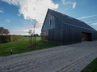 Zwarthout Shou Sugi Ban Moderne Häuser