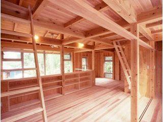 H2O設計室 ( H2O Architectural design office ) Ruang Media Gaya Rustic