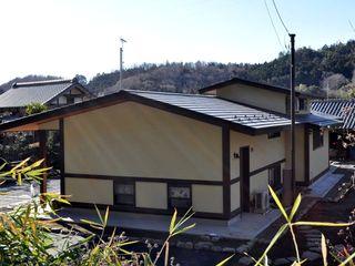 H2O設計室 ( H2O Architectural design office ) Rumah Gaya Rustic