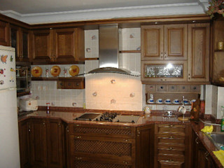 AÇAR MOBİLYA DEKORASYON КухняШафи і полиці