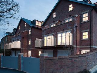 Shaftoe Cresent, Hexham MWE Architects Casas rústicas