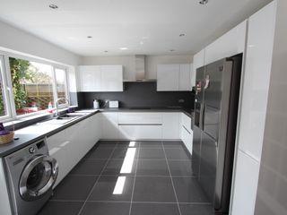 White gloss schuller AD3 Design Limited Kitchen