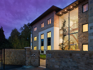 Princess Street, Corbridge. MWE Architects Casas modernas