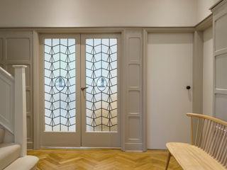 Muswell Hill House 1, London N10 Jones Associates Architects Modern corridor, hallway & stairs