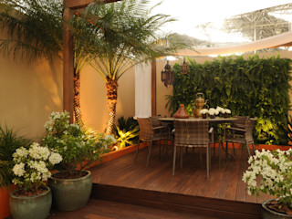 Folha Paisagismo Rustic style garden