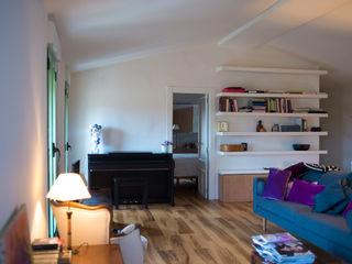 DMP arquitectura 现代客厅設計點子、靈感 & 圖片
