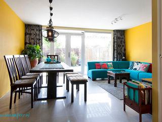 Aileen Martinia interior design - Amsterdam Salones de estilo asiático