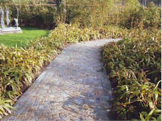 Luserna Stone Jardines de estilo mediterráneo