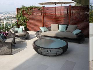 Valerie Barth Interior Designer Jardines de estilo mediterráneo