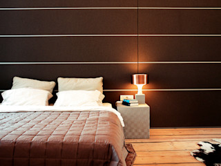 destilat Design Studio GmbH Modern style bedroom