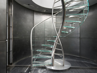 EeStairs® Glass Staircases EeStairs | Stairs and balustrades Corridor, hallway & stairsStairs Glass