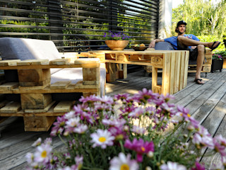 palettenmoebel.at Balconies, verandas & terracesFurniture