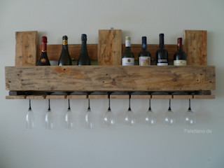 Palettano Dining roomWine racks