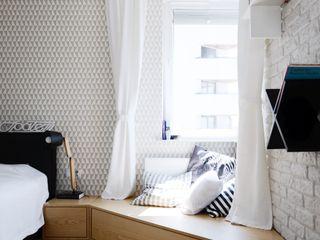 Devangari Design Dormitorios de estilo escandinavo