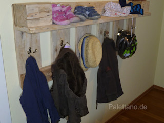 Palettano Corridor, hallway & stairsClothes hooks & stands