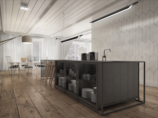 Brilliance in Simplicity: How to Evoke Old World Charm with Reclaimed Oak The Wood Galleries Cocinas de estilo rural
