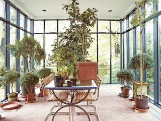 v. Bismarck Architekt Modern conservatory