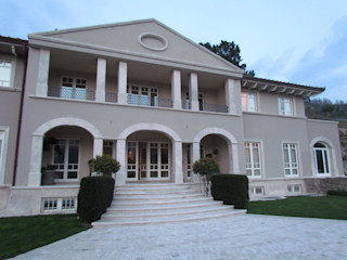 Garden House Lazzerini Classic style houses Marble Beige