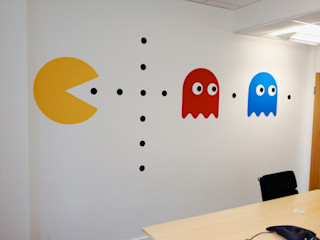 Workplace Graphics: KnowledgeMill Vinyl Impression Offices & stores