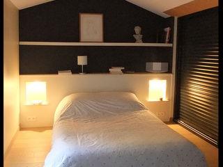 Tête de lit sur mesure C'Design Chambre industrielle