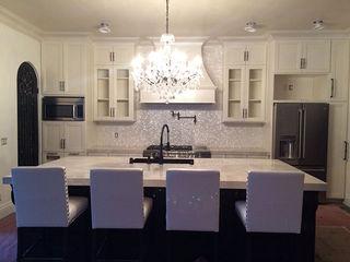 Kitchen Back Splash In California, USA ShellShock Designs Country style kitchen