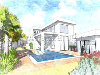 aei arquitetura e interiores 現代房屋設計點子、靈感 & 圖片