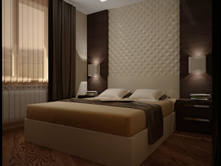 Vera Rybchenko Modern style bedroom