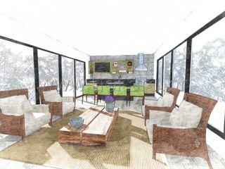 aei arquitetura e interiores 現代廚房設計點子、靈感&圖片