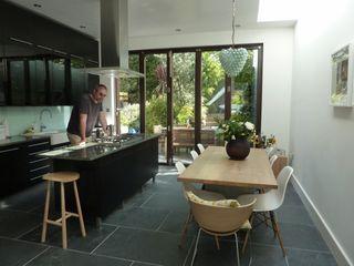 De Beauvoir Rear Kitchen Extension Gullaksen Architects Cucina moderna