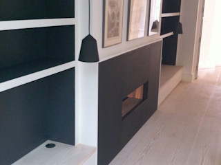 Highbury Basement Gullaksen Architects SoggiornoCamini & Accessori