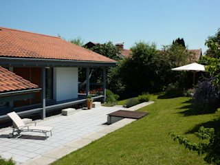 EFH Truchtlaching/Chiemsee Architekt Namberger Einfamilienhaus