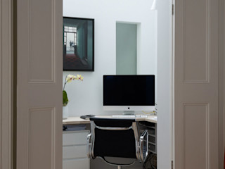 Rear Extension, De Beauvoir, London Gullaksen Architects Studio moderno