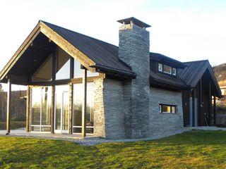 Chalet Hemsedal, Norway Gullaksen Architects Case in stile scandinavo