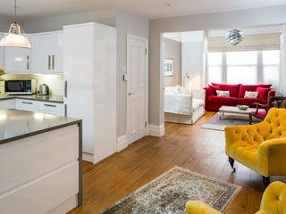 Highgate Townhouse SWM Interiors & Sourcing Ltd Salas modernas