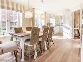 Immofoto-Sylt Country style dining room