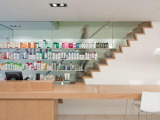 Hoofdkantoor Ami Kappers ontwerpplek, interieurarchitectuur Moderne winkelruimten