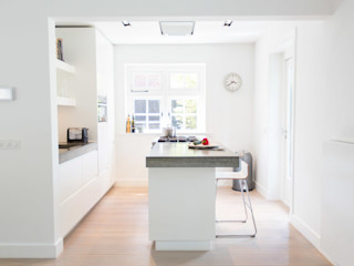 Woonhuis Laren ontwerpplek, interieurarchitectuur Moderne keukens