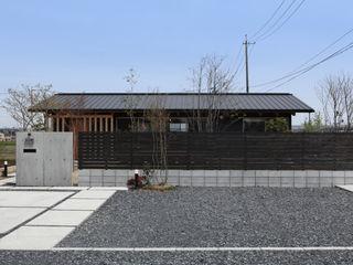 青木昌則建築研究所 Asian style houses