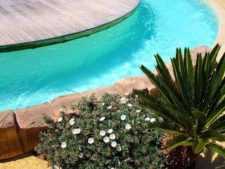 Piscina color verde caribe RENOLIT ALKORPLAN3000 RENOLIT ALKORPLAN Piscinas de estilo mediterráneo