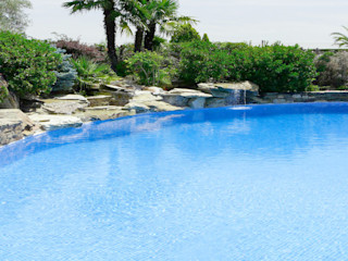 Piscina color Persia Azul RENOLIT ALKORPLAN3000 RENOLIT ALKORPLAN Piscinas de estilo mediterráneo