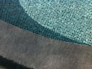 Piscina color Persia Negro RENOLIT ALKORPLAN3000 RENOLIT ALKORPLAN Piscinas de estilo mediterráneo
