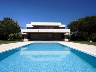 Piscina color Bizancio Azul RENOLIT ALKORPLAN3000 RENOLIT ALKORPLAN Piscinas de estilo minimalista
