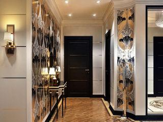Sweet Home Design Modern corridor, hallway & stairs