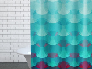 Bathroom Prints and Shower Curtains JUNIQE BadezimmerTextilien und Accessoires