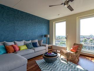 Aileen Martinia interior design - Amsterdam Salones de estilo tropical